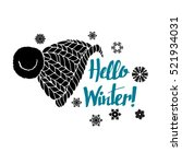 winter  text  hello  banner ... | Shutterstock .eps vector #521934031