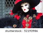 venetian mask | Shutterstock . vector #52193986