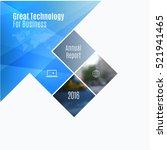 business vector design elements ... | Shutterstock .eps vector #521941465