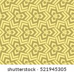 abstract geometric seamless... | Shutterstock .eps vector #521945305