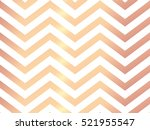 trendy rose gold chevron... | Shutterstock .eps vector #521955547