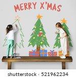 Merry Christmas Celebration New Year - Fine Art prints