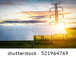 solar cell clean energy  | Shutterstock . vector #521964769