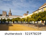 seville cathedral giralda tower ... | Shutterstock . vector #521978239