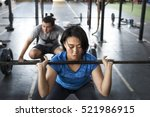 active people sport workout... | Shutterstock . vector #521986915