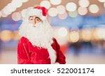 santa claus proud pose | Shutterstock . vector #522001174