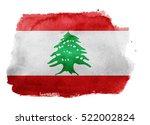 watercolor flag background.... | Shutterstock . vector #522002824
