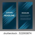 speed lines vector abstract... | Shutterstock .eps vector #522003874