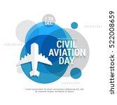 international civil aviation...   Shutterstock .eps vector #522008659