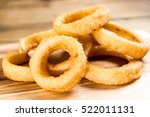 fast food homemade crunchy... | Shutterstock . vector #522011131