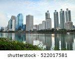 benjakiti park  bangkok... | Shutterstock . vector #522017581