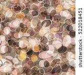 brown seamless organic pattern. ... | Shutterstock .eps vector #522018451
