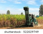 Sugarcane Harvester Machine