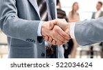blurred business people... | Shutterstock . vector #522034624