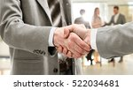 blurred business people... | Shutterstock . vector #522034681