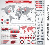 oil industry icon set and...   Shutterstock .eps vector #522037441