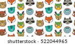 vector seamless pattern with... | Shutterstock .eps vector #522044965