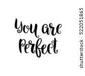 vector calligraphy image. hand... | Shutterstock .eps vector #522051865