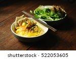 vietnamese noodles with shrimps ... | Shutterstock . vector #522053605