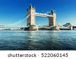 Tower Bridge In London  Uk