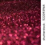 pink glitter | Shutterstock . vector #522093964