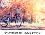 Vintage Bicycle In Summer...