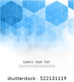 vector abstract geometric forms.... | Shutterstock .eps vector #522131119