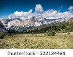 Small photo of Hiking views of a high alpine meadow from Molar Pass and Mosquito Creek Backcountry areas in Banff National Park Alberta Canada
