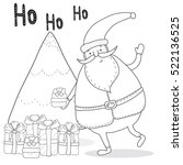 Christmas Coloring Page With...
