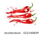 chili pepper | Shutterstock . vector #522140839