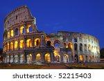 colosseum at night | Shutterstock . vector #52215403