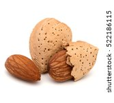 Almond Nut In Shell And Shelle...