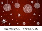 dark red christmas postcard low ...