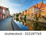 Brugge  Brugges  Canal And Cit...