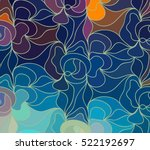 abstract vector color... | Shutterstock .eps vector #522192697
