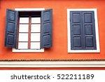 detail of an open wooden iron...   Shutterstock . vector #522211189