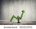 market growth and success as... | Shutterstock . vector #522212551