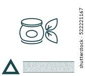 vector cream icon | Shutterstock .eps vector #522221167