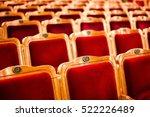 sets on an empty theatre  taken ... | Shutterstock . vector #522226489