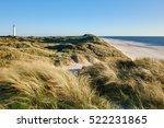 North Sea Coast With Dune And ...