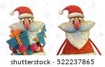 Handmade Plasticine Santa Clau...