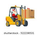 flat banner production process... | Shutterstock .eps vector #522238531