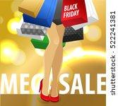 design concept for advertising  ... | Shutterstock .eps vector #522241381