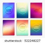brochure flyer layouts in a4...   Shutterstock .eps vector #522248227