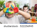 child. | Shutterstock . vector #522256945