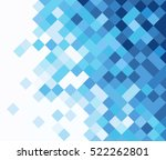 square mosaic vector background ...