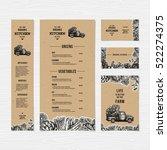 farm fresh delivery design... | Shutterstock .eps vector #522274375
