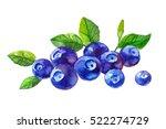 watercolor illustration of... | Shutterstock . vector #522274729