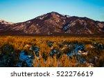 Santa Fe New Mexico Usa Sunset...