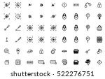 spy security icon set | Shutterstock .eps vector #522276751
